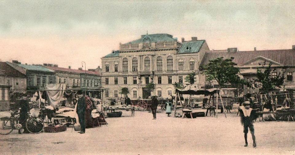 Krakow's Judenrat first office