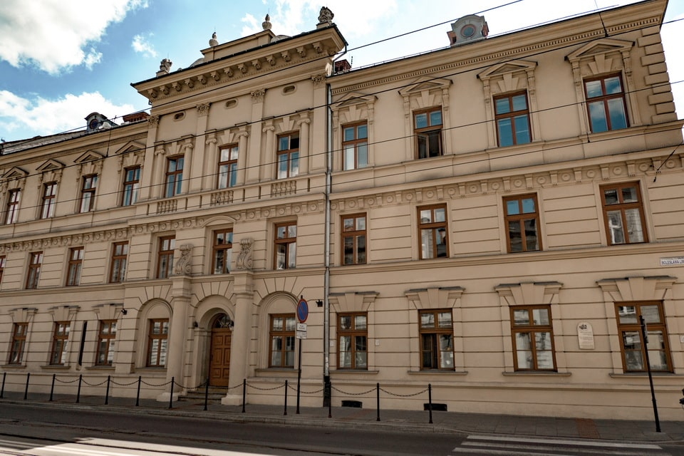The building of Judenrat krakow