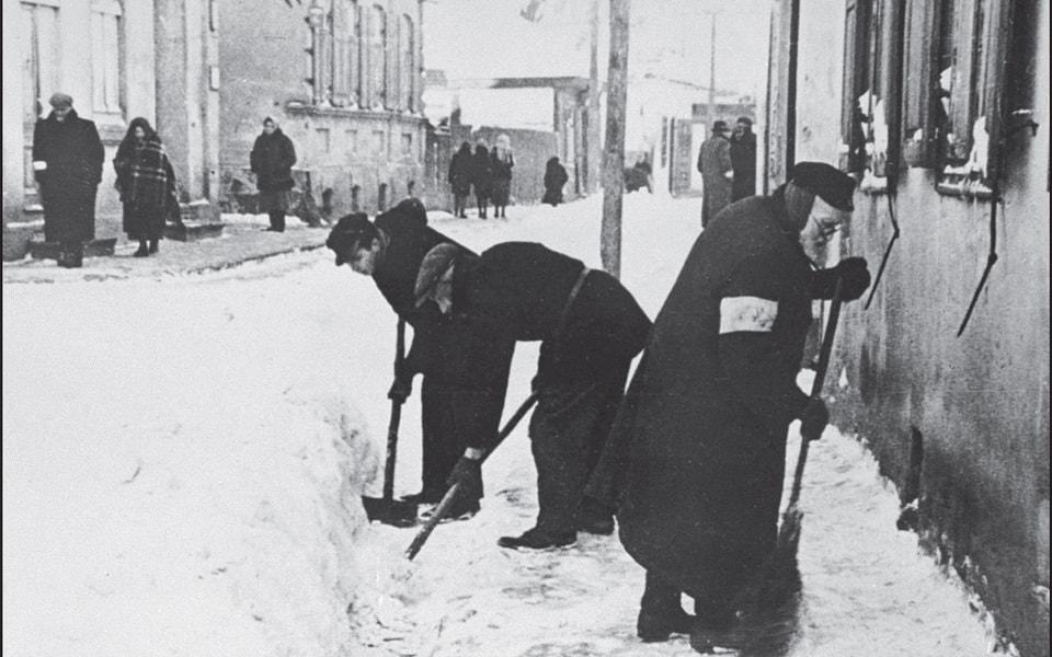 History of the Krakow ghetto