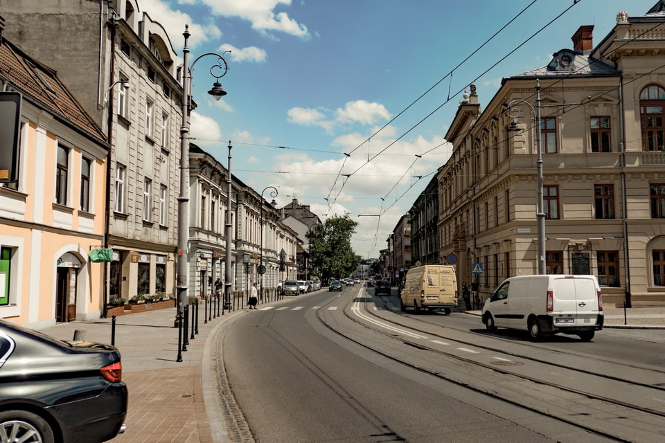 Boleslawa Limanowskiego Street, Krakow ghetto today