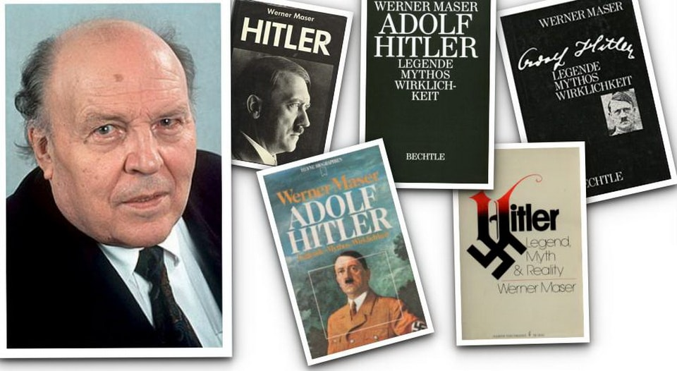 HITLER: LEGEND, MYTH & REALITY BY WERNER MASER