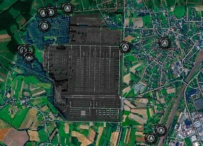 Объекты вокруг музея Освенцим