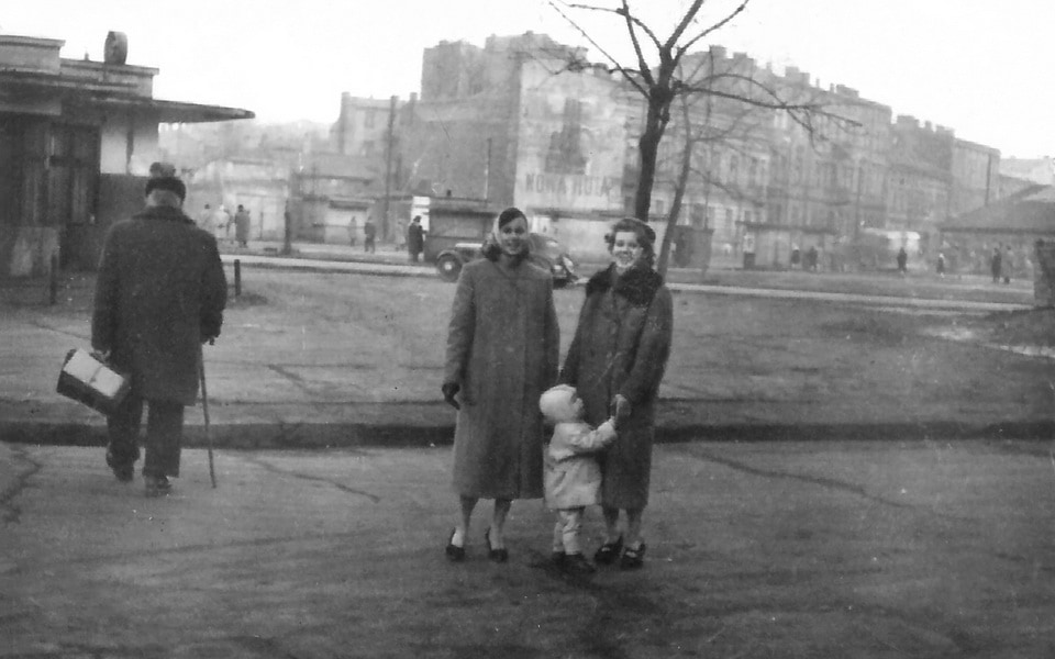 Plac Zgody 1950s