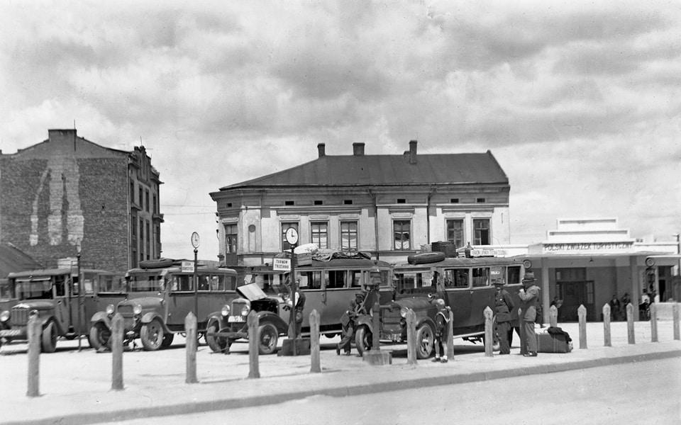 Plac Zgody Krakow 1930