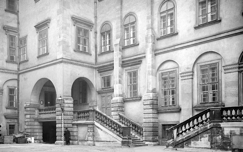 Burgkapelle chappel in VIenna in 1900s