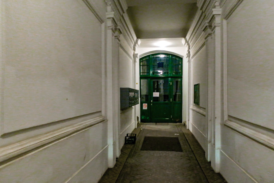 Adolf Hitler house at Felberstrasse Vienna