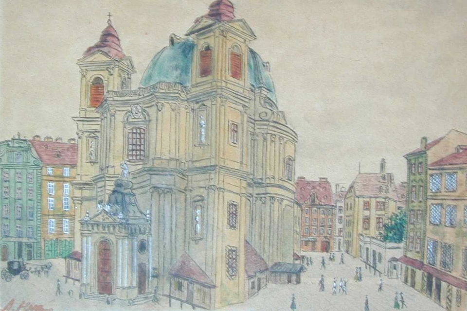 Petersplatz and the Peterskirche