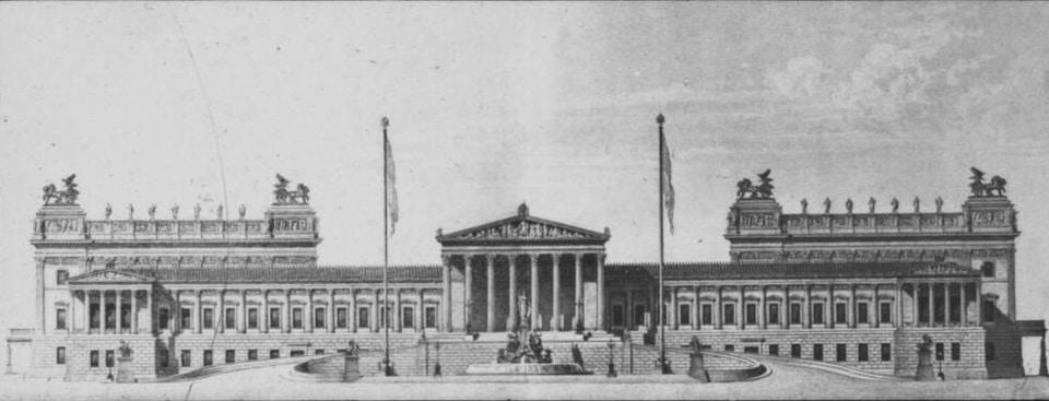 Parlamentsgebäude Parliament building