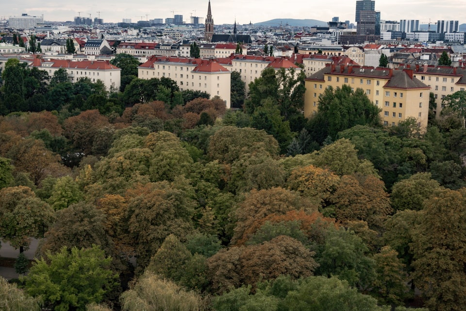 Prater park and Adolf Hitler's years in Vienna 1906-1913