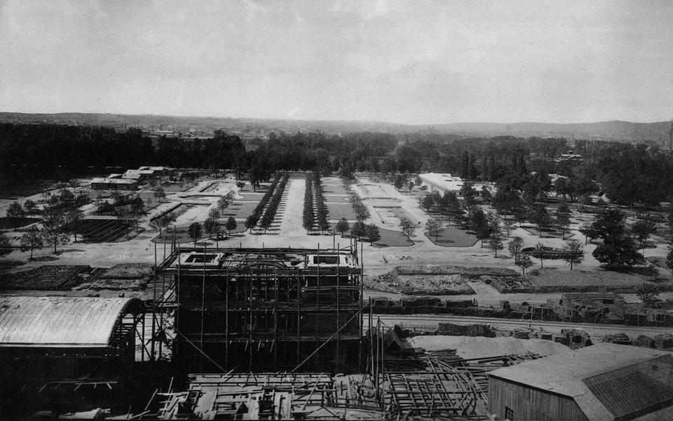 Prater park 1873