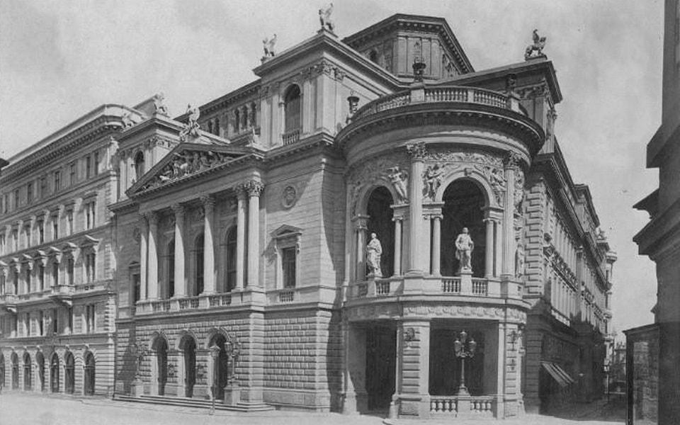 Stadttheater theater Ronacher Hitler visited in Vienna