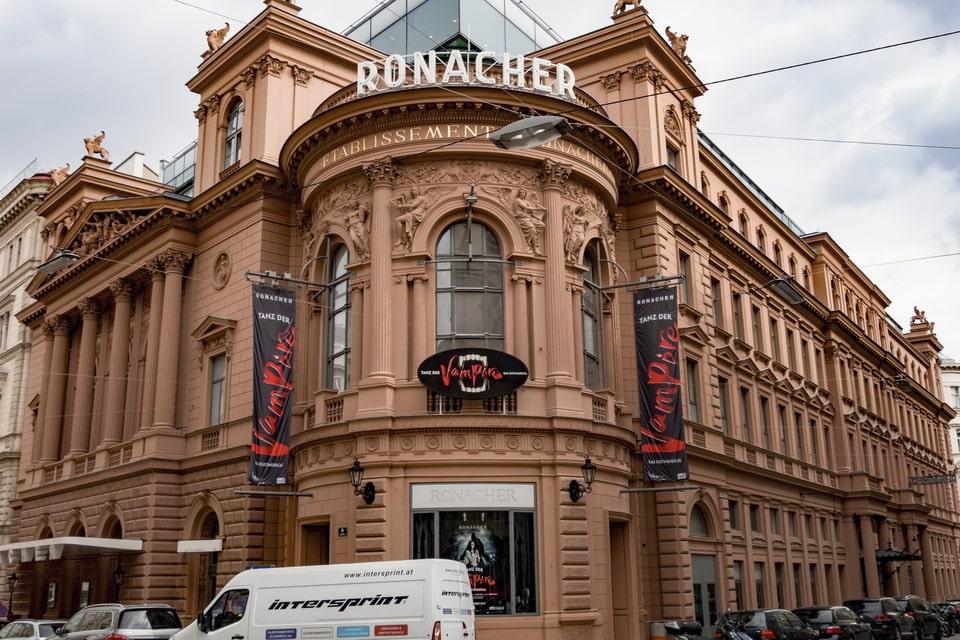 Stadttheater Ronacher Wien Hitler