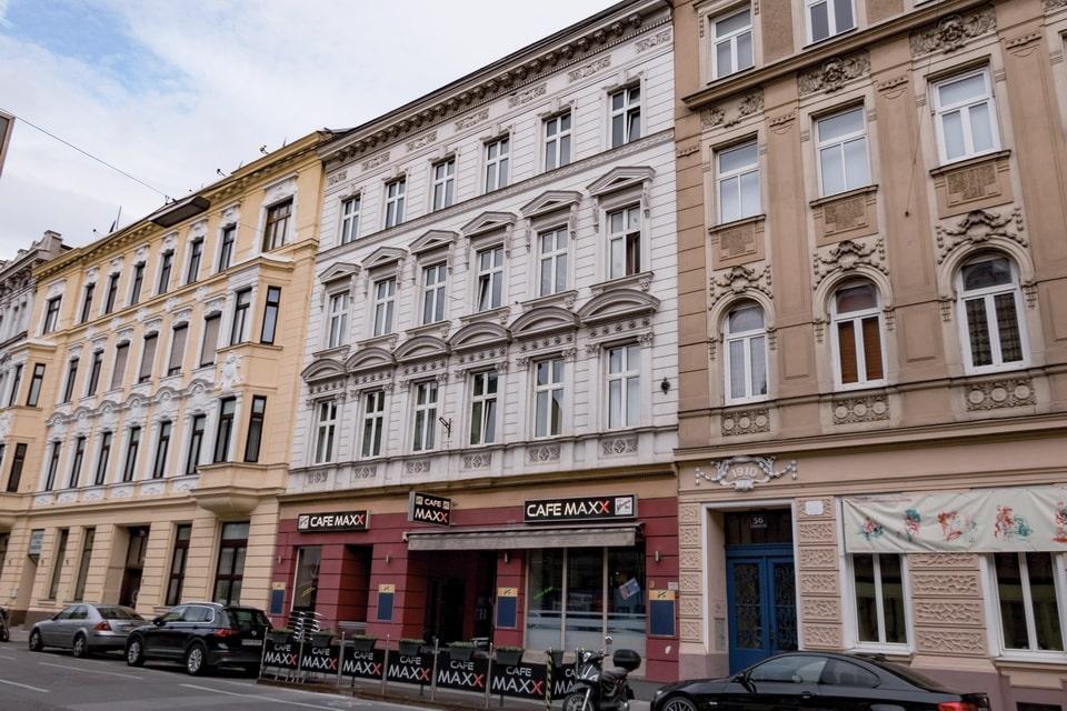 Hitler's third home at Sechshauser Strasse 58