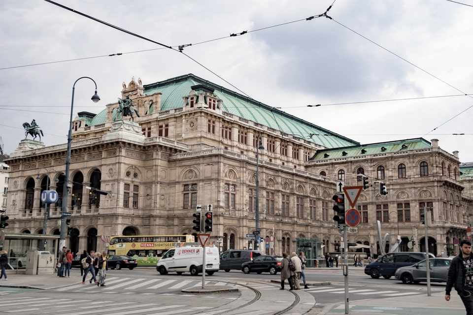 State Opera in VIenna today