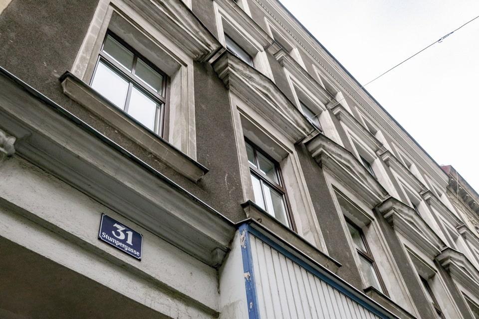 Stumpergasse 31 ADolf Hitler in Vienna