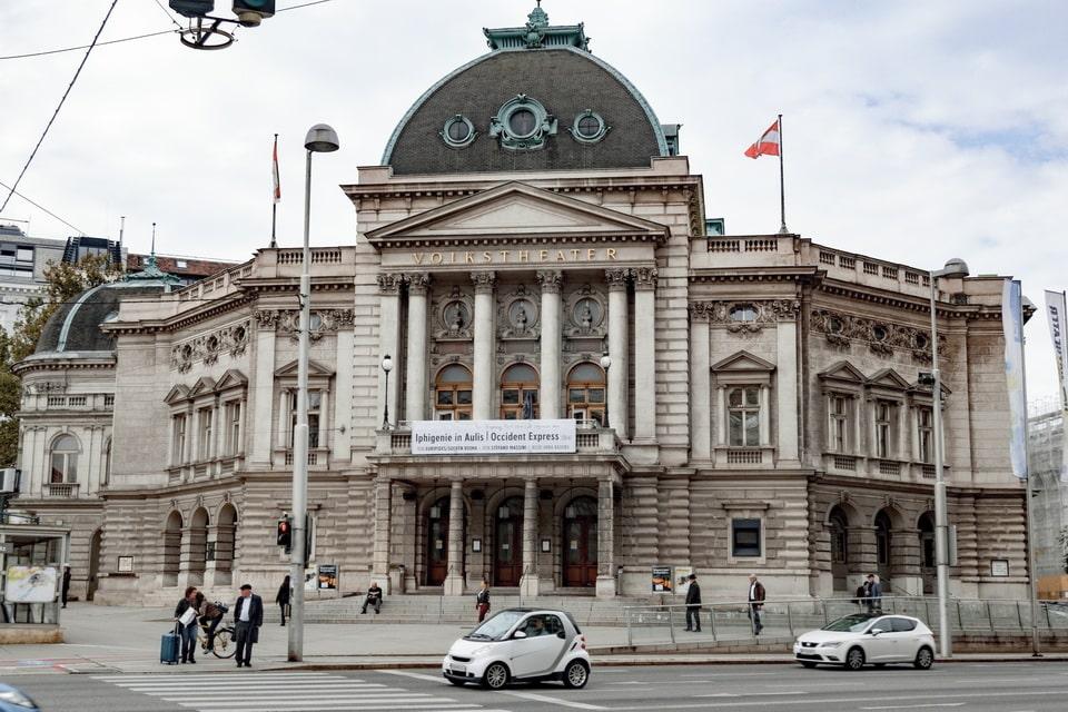 Volkstheater (Public theater) Vienna