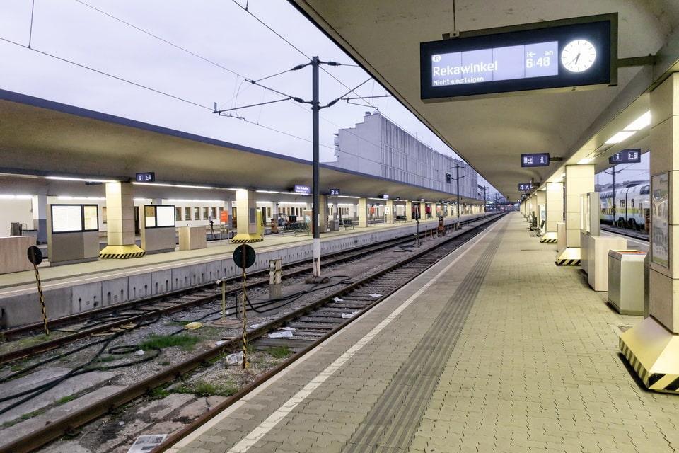 Westbahnhof railway station