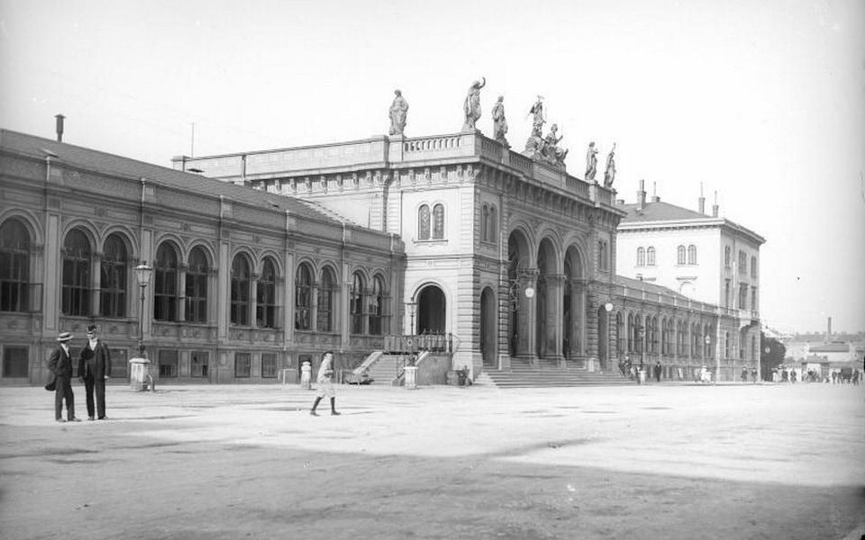 Westbahnhof railway station Wien
