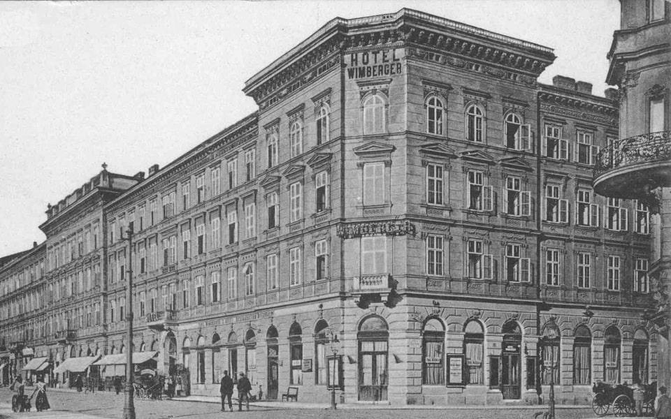Wimberger restaurant and hotel in VIenna