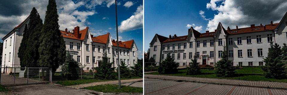 STABSGEBAUDE SS BUILDING in Oswiecim