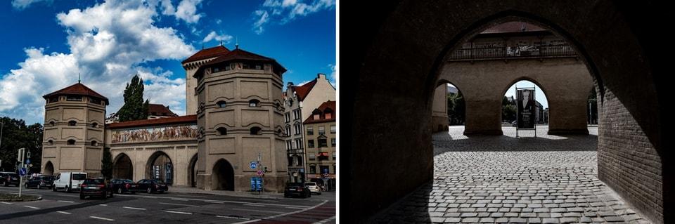 ISARTOR GATES Munich