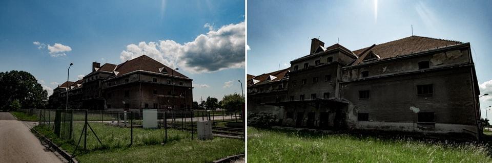 UNTERKUNFTSGEBAUDE WAREHOUSE Auschwitz stammlager