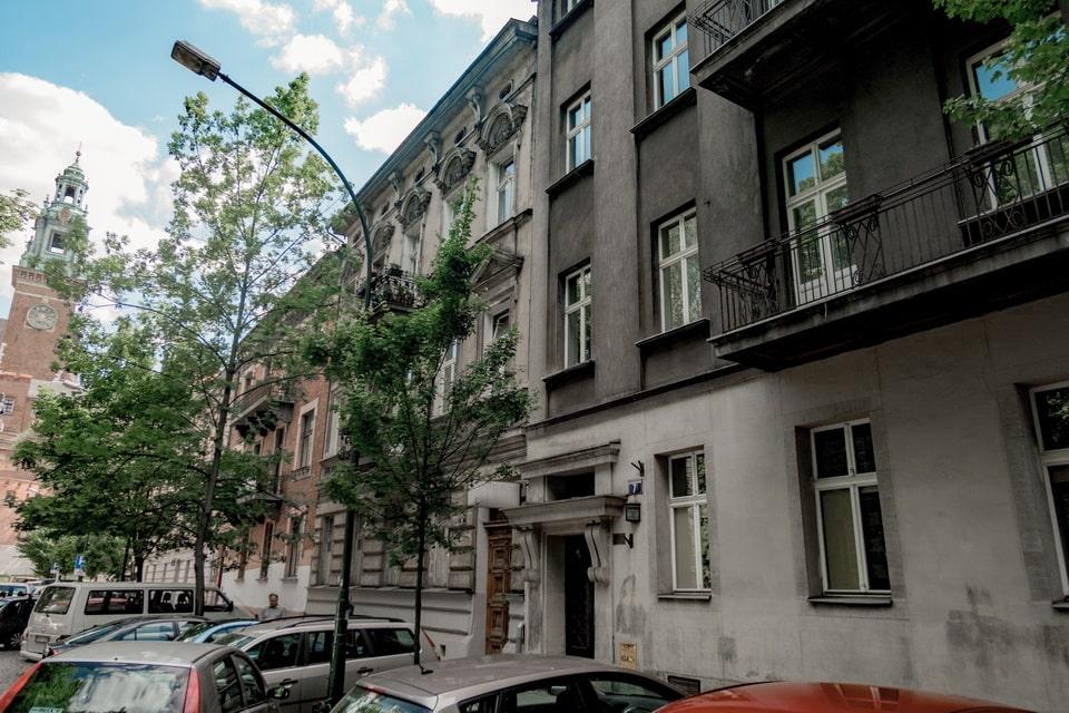 Straszewskiego 7. Apartment from the Schindler's list movie