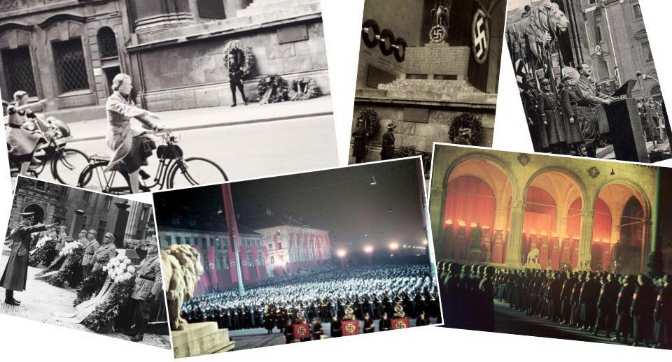 RESIDENZSTRAßE – FELDHERRNHALLE – ODEONSPLATZ Third Reich