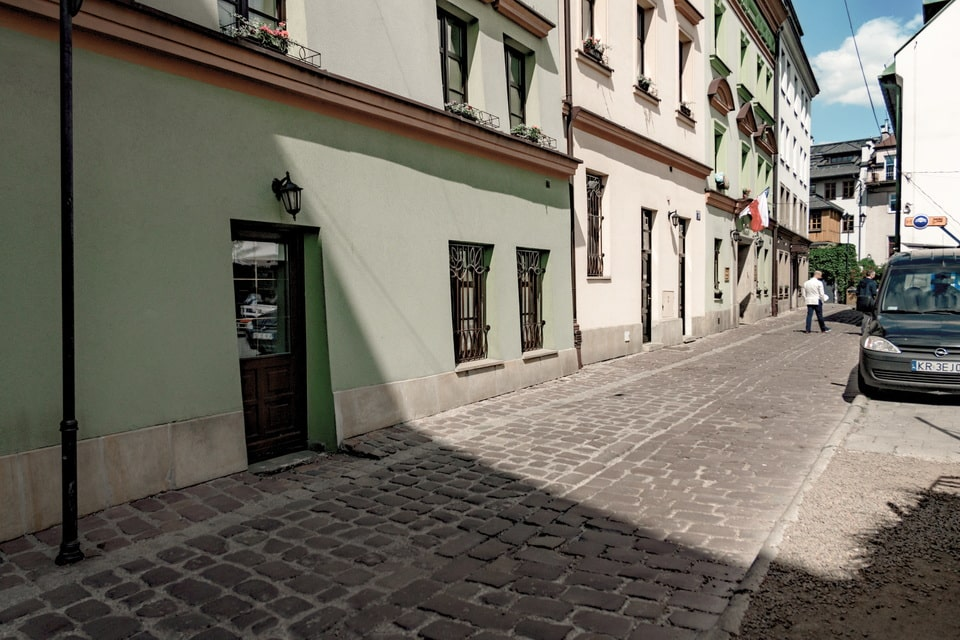 Ciemna street today, Krakow Poland