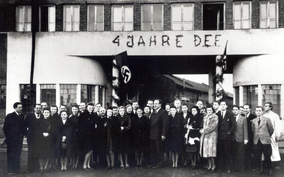 Oscar Schindler's factory in Krakow 1944