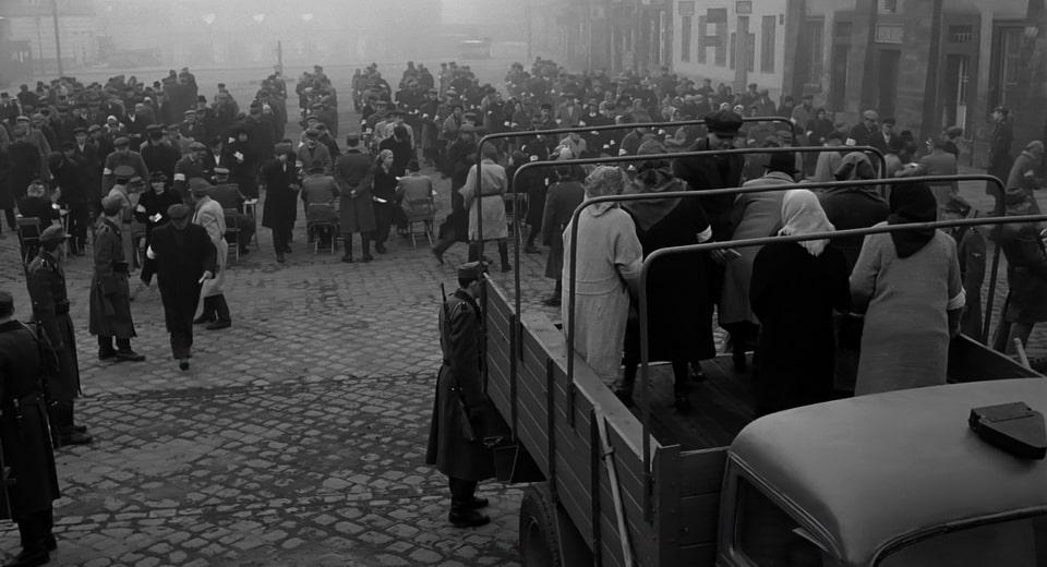 Plac Zgody in Schindler's list movie