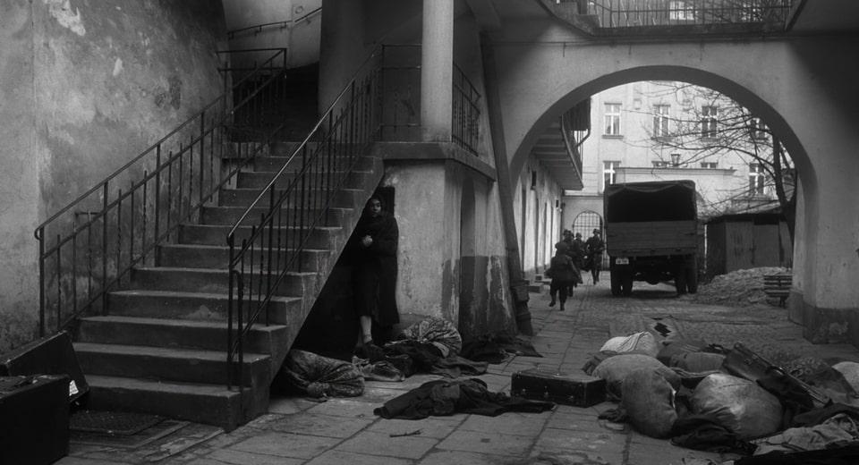 Staircase, where miss Dresner hid. Where was Schindler's list filmed