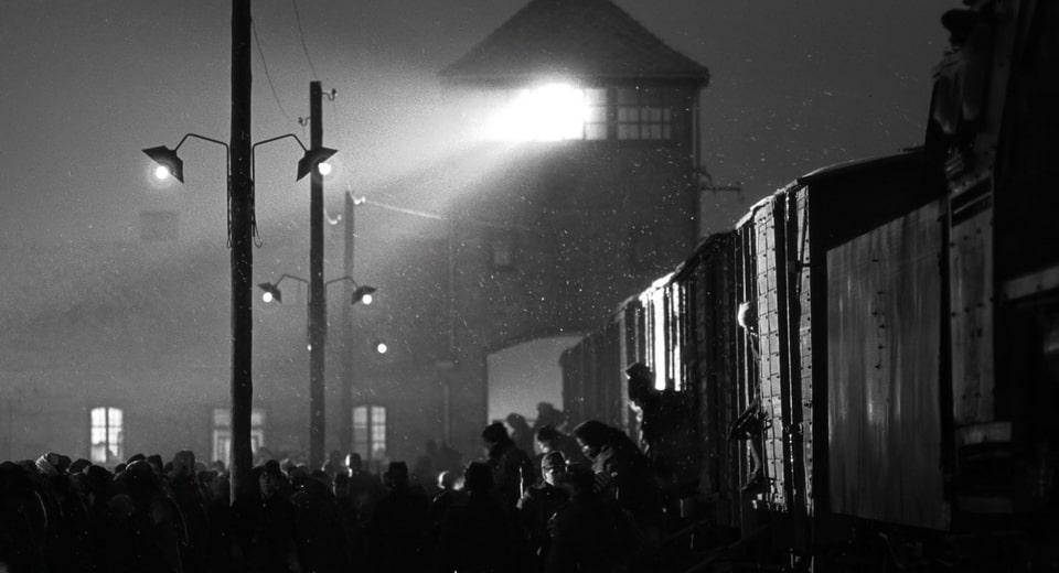 Auschwitz Birkenau in a movie by Steven Spielberg