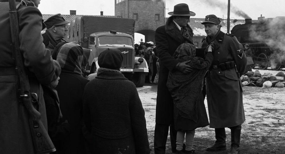 Schindler's list shooting in Auschwitz
