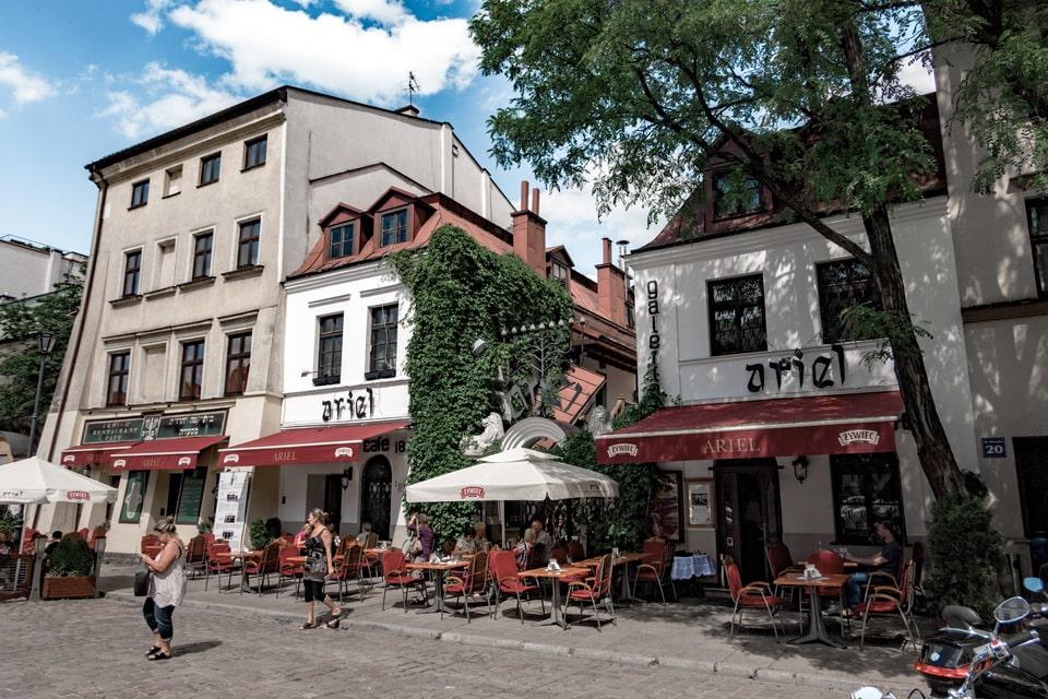 Ghetto square Schindler's list
