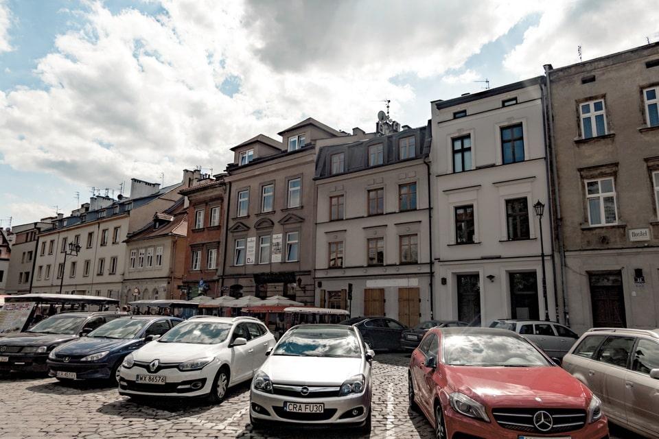 Szeroka street Krakow, Schindler's list locations