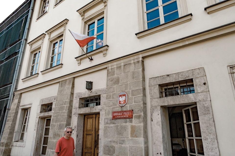 Filming location of the Ghetto hospital Krakow