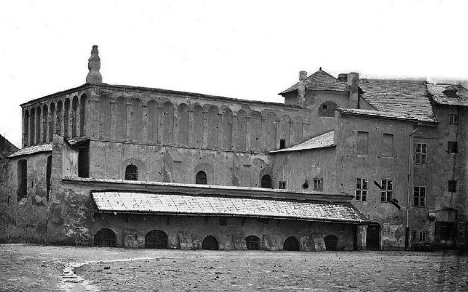 Old synagogue Szeroka street