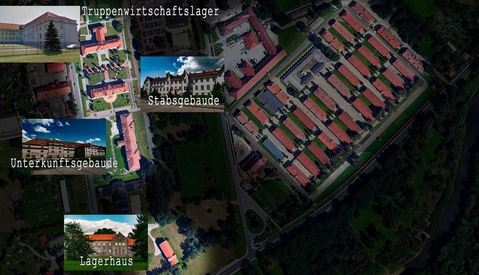 POLISH TOBACCO MONOPOLY BUILDINGS in Oswiecim