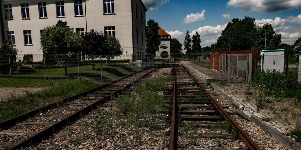 POLISH TOBACCO MONOPOLY BUILDINGS and the former railway sidings