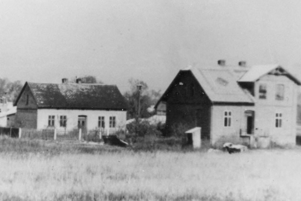 Brzezinka village in 1941