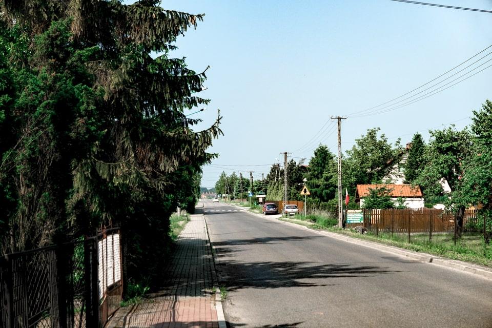 Meczenstwa Narodow street Auschwitz Birkenau camp