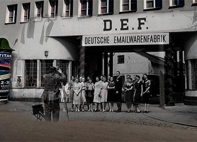 Oskar Schindler's factory DEF