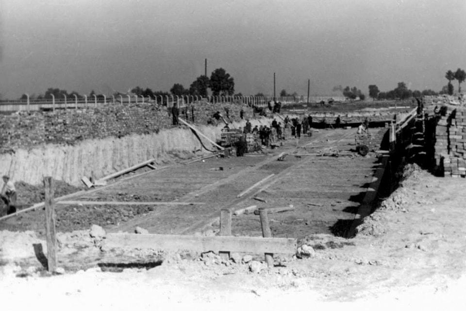Building of SS HEADQUARTERS (KOMMANDANTUR) Auschwitz