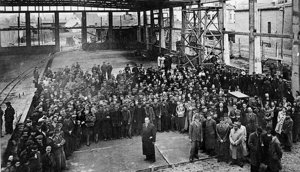 Oskar Schindler's DEF factory 1944