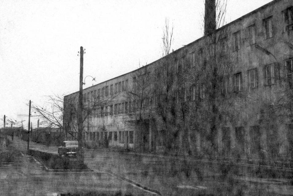 Schindler's Factory in Krakow in the 1950s