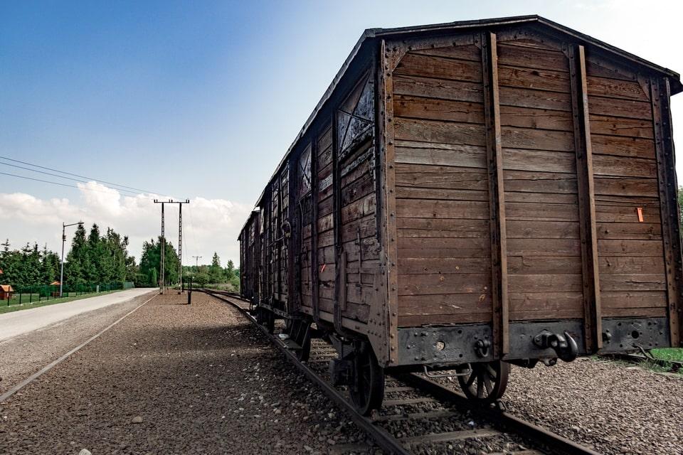 The Alte Juden Ramp Auschwitz Birkenau
