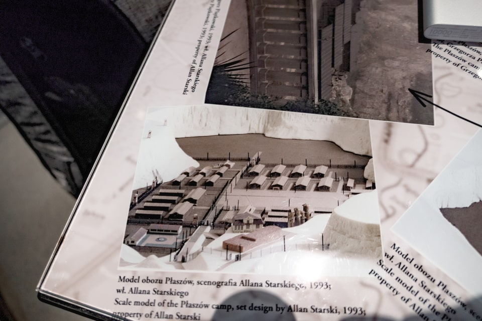 Models of the Plaszow camp for Schindler's list movie