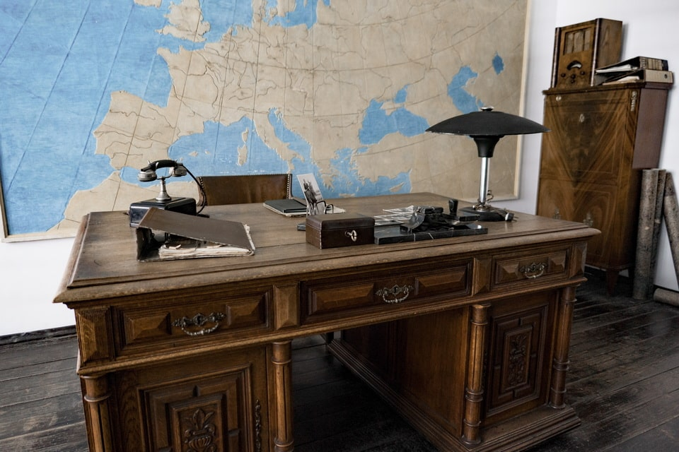 Oskar Schindler's office at the DEF factory Krakow