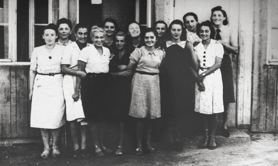 Polish secretaries of Oskar Schindler